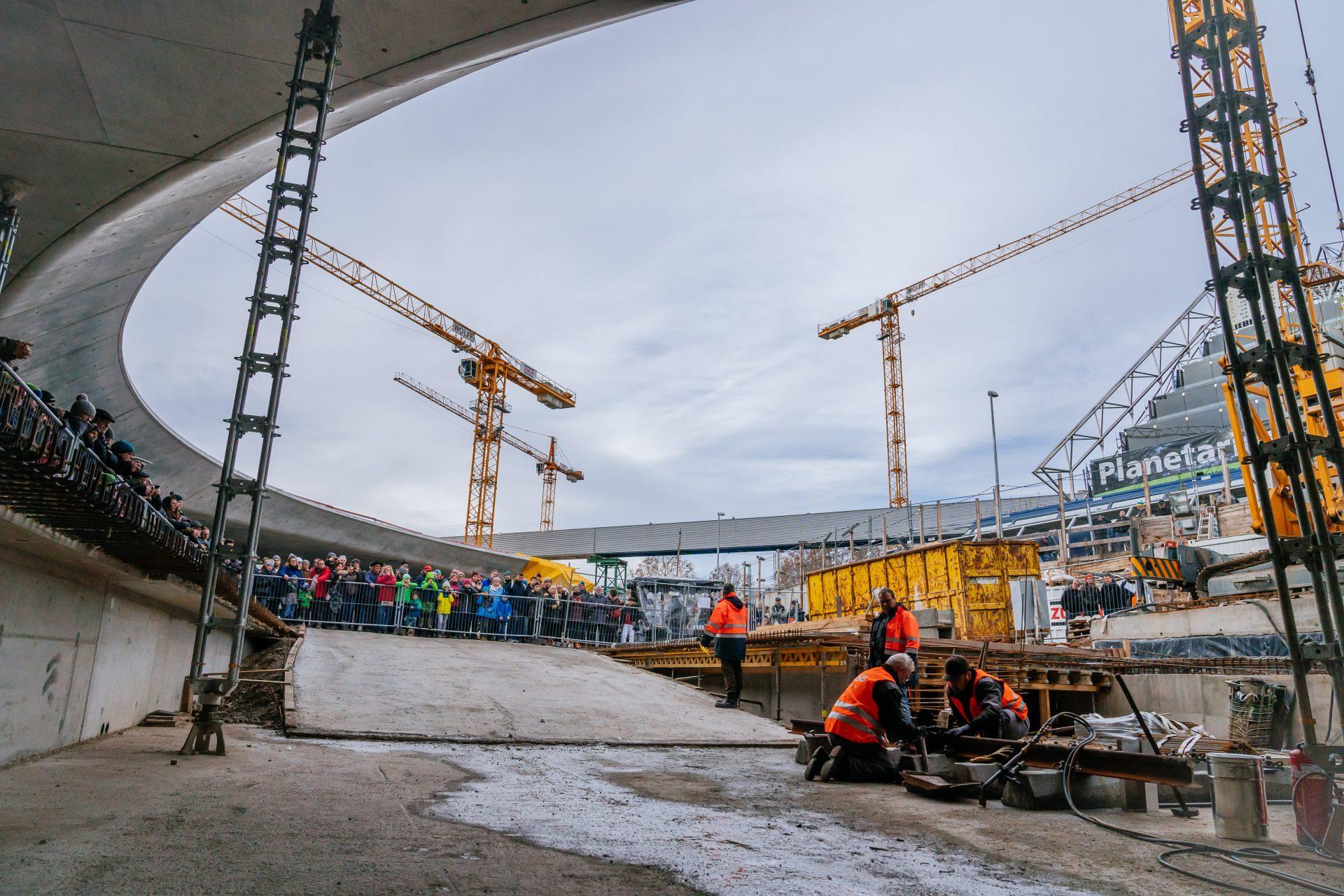 S21 Tag der offenen Baustelle / Bahnprojekt Stuttgart - Ulm / Stuttgart 21
